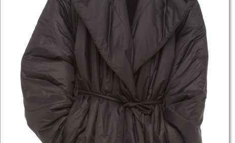 FAMOUS SLEEPING BAG COAT