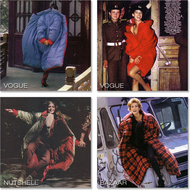 SLEEPING BAG COATS