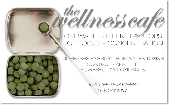 CHEWABLE TEA DROPS