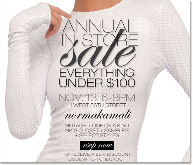 ANNUAL IN STORE SALE