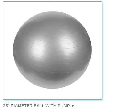 "25"" Diameter Ball with Pump"