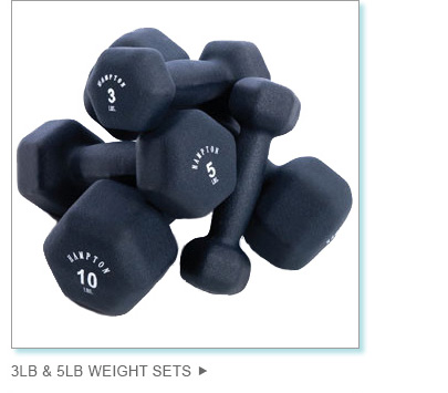 3lb and 5lb Weight Sets