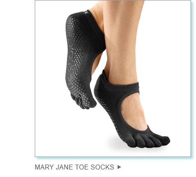 Mary Jane Toe Socks
