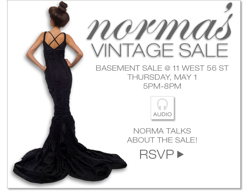 Norma's Vintage Sale - May 1