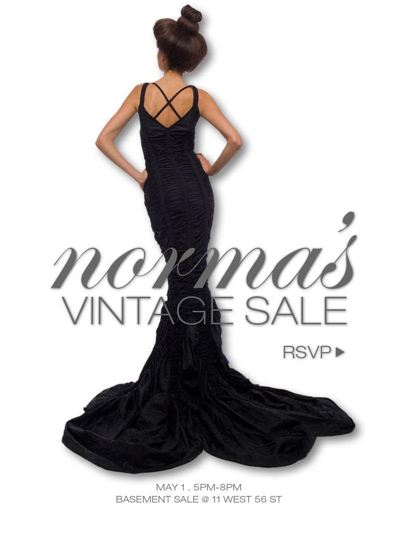RSVP for Norma's Vintage Sale