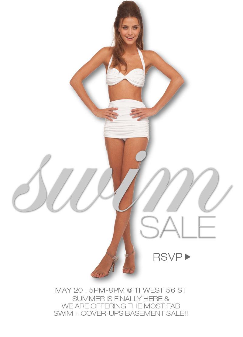 RSVP for Norma's Swim Sale