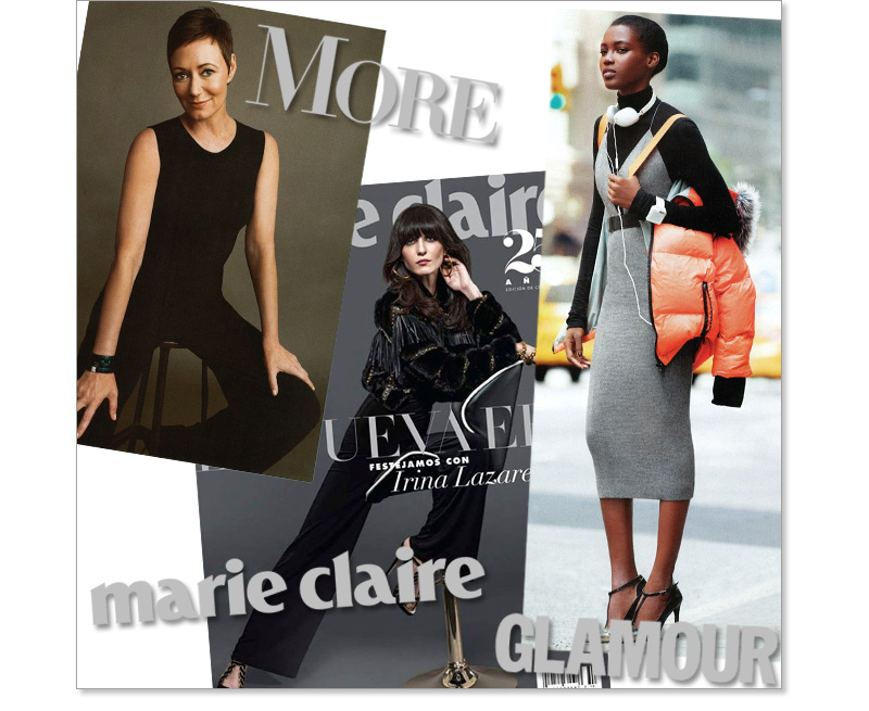 More, Marie Claire, Glamour